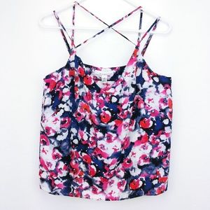 🆕Floral print Fourteenth Place camisole      N11